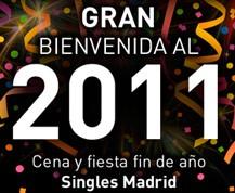 Cena y Fiesta Fin de Año en Madrid