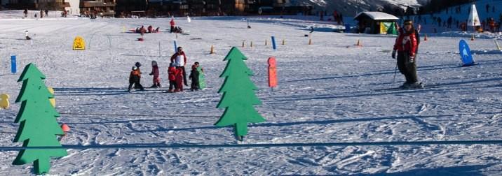 Finde de Carnaval nos vamos a esquiar con los niños