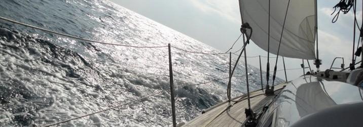Castañada a bordo de un Velero