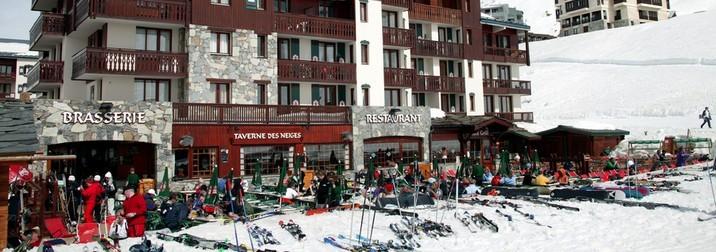 Super Ski en los Alpes