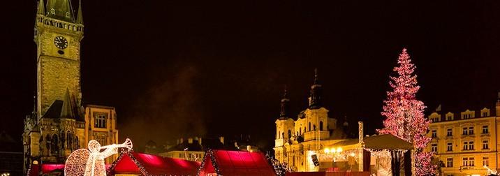 Puente de Diciembre en la mágica y fascinante Praga