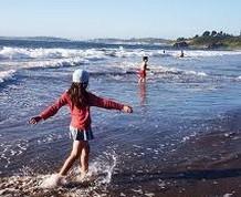 Semana Santa en la playa  con los niños