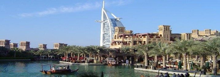 Septiembre: Dubai, lujo entre dunas
