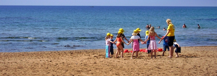 4 días de Colonias con los niños en Calafell