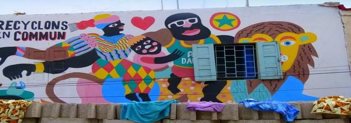 Los Singles pintamos en Senegal