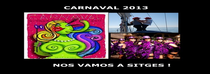 Carnaval de Sitges en Velero