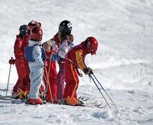 Esquí en la Molina con los peques! Sube y baja