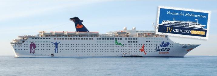 IV Crucero Single: Noches del Mediterráneo. Viernes último día para apuntarse.