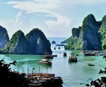 Puente Noviembre: De la bahía de Halong al delta del Mekong
