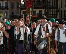 Fiesta del orujo en Potes. Picos de Europa