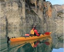 Senderismo y kayak