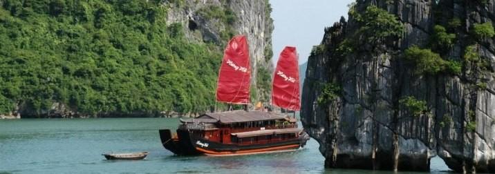 Vietnam: campos de arroz y templos