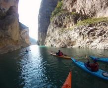 Semana Santa de senderismo y kayak