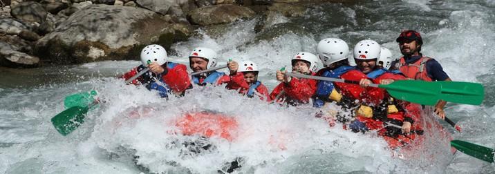 Rafting y senderismo en la Noguera