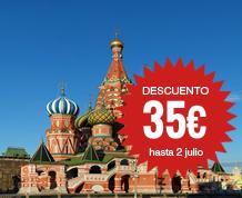 Julio: Rusia           ¡Últimas 6 plazas desde Bcn!