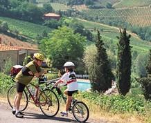La Toscana en familia