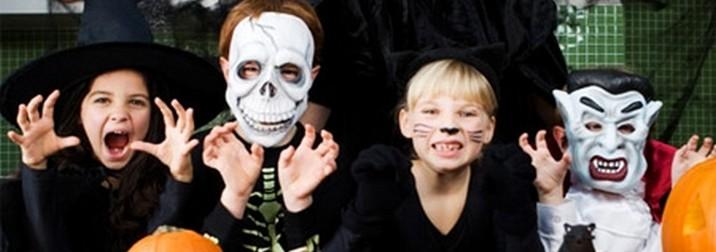 Halloween con los niños en la Costa Brava
