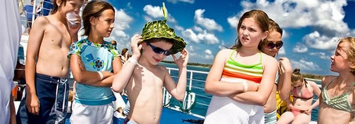 Crucero con niños para solteros