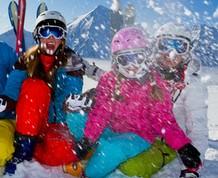 Esqui con niños en Boi Taull