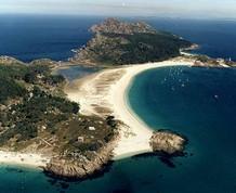 Julio: Islas Cies y Rias Baixas Gallegas