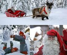 Vacaciones Singles: Laponia en familia. Conoce a Papa Noel