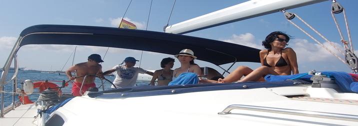 Julio y Agosto: Navegando por Ibiza y Formentera