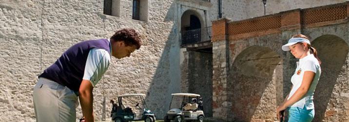 golf e terme nel castello in Slovenia
