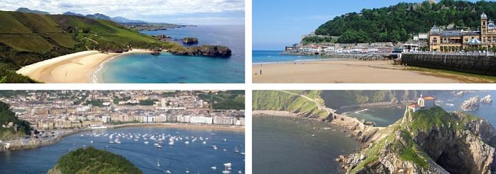 Agosto: Costa Vasca espectacular