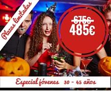MiniCrucero Halloween especial JÓVENES por el Mediterráneo
