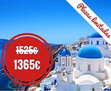 Septiembre: Crucero por las Islas Griegas, entre 3 mares