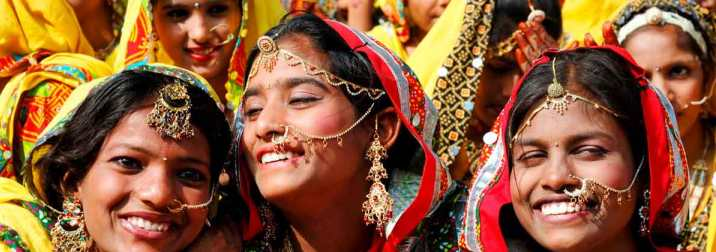 Rajastán y feria de camellos de Pushkar