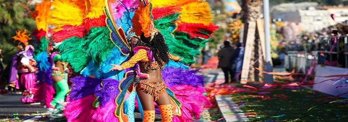 Carnavales en La Costa Azul y Provenza