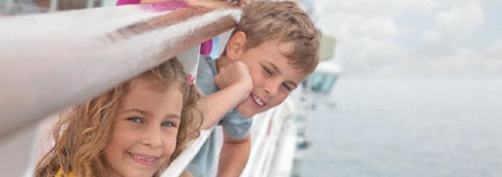Agosto: Crucero con niños por los Fiordos Noruegos