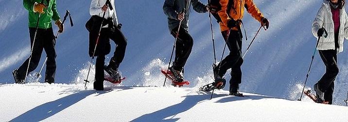Raquetas de nieve en Ezcaray