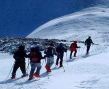 Febrero: Raquetas de nieve en Ezcaray