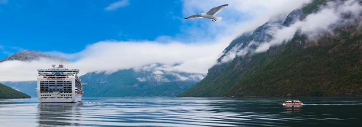 Agosto: Crucero por los Fiordos