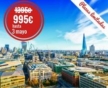 Agosto: Vive Londres y un Crucero