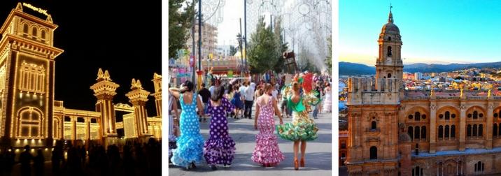 Agosto: Feria de Málaga