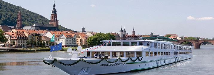 Agosto: Crucero fluvial Lo mejor del Rin