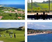 Playa, spa y golf en Comillas