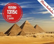 Egipto, aventura en faluca