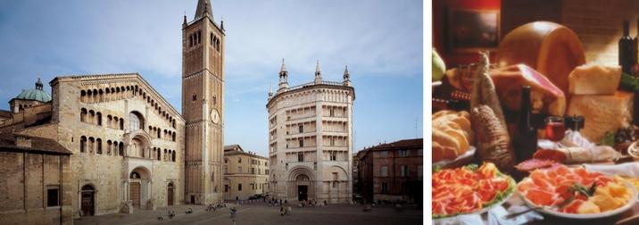 Ottobre: gita a Parma in giornata in bici