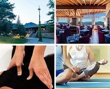 Yoga, relajación y shiatsu en la Sierra