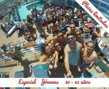 Agosto: Crucero Jóvenes 30 a 45 años. Autentico Mediterráneo