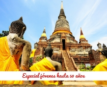 Agosto: Tailandia, especial hasta 50 años