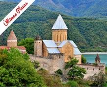Georgia, fortalezas y montañas del Cáucaso