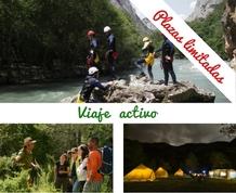 Tented camp, rafting y trekking en los Pirineos