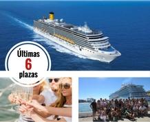 Agosto: Crucero Single por el Mediterráneo