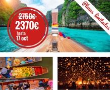 Octubre en Tailandia: Loy Katrong, fiesta de los Sueños