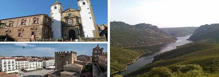 Puente de la Almudena en Cáceres y Monfragüe